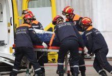 صورة وفاة طفلين في اصطدام بين سيارة وشاحنة ببلدية نڨرين في تبسة