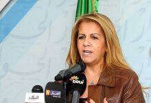 صورة إعادة انتخاب سعيدة نغزة على رأس الكونفدرالية العامة للمؤسسات الجزائرية