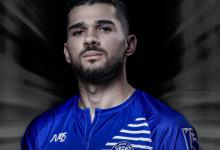 صورة عبيد يسجّل أولى أهدافه مع النصر الإماراتي